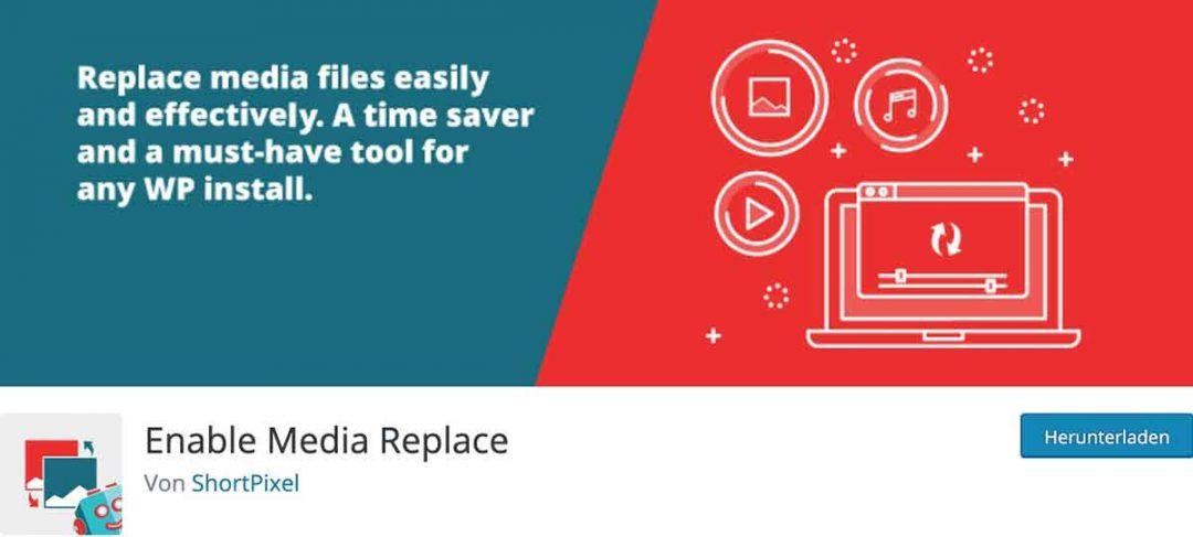 Wordpress Plugin Enable Media Replace